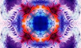 Διακοσμητική δομή χρώματος και μαλακά θολωμένο υπόβαθρο watercolor στοκ εικόνες με δικαίωμα ελεύθερης χρήσης