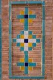 Διακοσμητική εργασία τούβλου, Qazvin, Ιράν Στοκ Εικόνες
