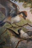 Διακοσμητική ζωγραφική στη Ρώμη στοκ φωτογραφία με δικαίωμα ελεύθερης χρήσης