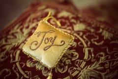 Διακοσμητική διακόσμηση μαξιλαριών Στοκ Εικόνες