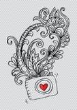 Διακοσμητική κάμερα φωτογραφιών και floral, για το σχέδιο πουκάμισων Στοκ φωτογραφία με δικαίωμα ελεύθερης χρήσης