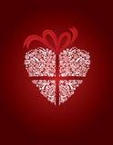 διακοσμητική καρδιά χαιρ& απεικόνιση αποθεμάτων