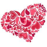 διακοσμητική καρδιά απεικόνιση αποθεμάτων