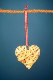 Διακοσμητική καρδιά βαλεντίνων Στοκ Φωτογραφία