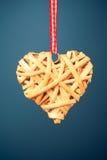 Διακοσμητική καρδιά βαλεντίνων Στοκ φωτογραφίες με δικαίωμα ελεύθερης χρήσης