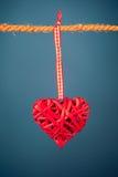 Διακοσμητική καρδιά βαλεντίνων Στοκ εικόνες με δικαίωμα ελεύθερης χρήσης