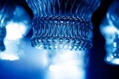 Διακοσμητική λαμπρότητα γυαλιού 50mm background blur effect fires night nikkor party side Χρώμα θαμπάδων στοκ φωτογραφία