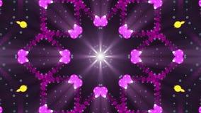 Διακοσμητική νέα ποιότητα υποβάθρου ζωτικότητας σχεδίων φω'των συμμετρική kaleidoscopic εθνική φυλετική psychedelic αναδρομική διανυσματική απεικόνιση