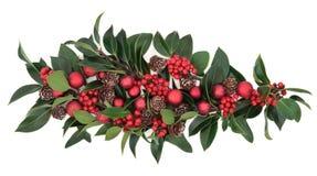 Διακοσμητική παρουσίαση Χριστουγέννων Στοκ εικόνες με δικαίωμα ελεύθερης χρήσης