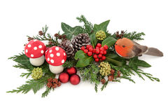 Διακοσμητική παρουσίαση Χριστουγέννων Στοκ Φωτογραφίες