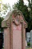 διακοσμητική ταφόπετρα Στοκ Εικόνα