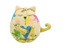 Διακοσμητική χειροποίητη γάτα Στοκ εικόνες με δικαίωμα ελεύθερης χρήσης
