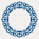 διακοσμητική floral γιρλάντα απεικόνιση αποθεμάτων
