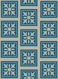 διακοσμητική flowery ταπετσαρί Στοκ Εικόνες