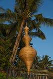 Διακοσμητικοί λαμπτήρες, Boracay, Φιλιππίνες Στοκ Φωτογραφία