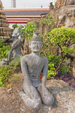 Διακοσμητικοί αριθμοί στον κήπο βράχου Ναός Pho Wat του Recli Στοκ Φωτογραφία