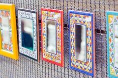 Διακοσμητικοί καθρέφτες Στοκ φωτογραφίες με δικαίωμα ελεύθερης χρήσης
