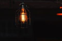 Διακοσμητικός λαμπτήρας, που φωτίζει το δωμάτιο Στοκ Φωτογραφίες