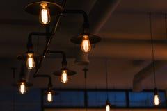 Διακοσμητικός λαμπτήρας, που φωτίζει το δωμάτιο Στοκ εικόνα με δικαίωμα ελεύθερης χρήσης