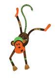 Διακοσμητικός αστείος πίθηκος Στοκ Φωτογραφίες