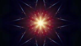 Διακοσμητικός ελαφριών ακτίνων τρεμουλιάσματος αστεριών σχεδίων ζωτικότητας άνευ ραφής ντόπιος ποιοτικών αναδρομικός εκλεκτής ποι ελεύθερη απεικόνιση δικαιώματος