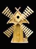 διακοσμητικός μύλος ξύλι Στοκ εικόνα με δικαίωμα ελεύθερης χρήσης