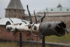 Διακοσμητικός οδικός δείκτης Στοκ Φωτογραφίες
