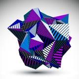 Διακοσμητικός περίπλοκος ασυνήθιστος eps8 αριθμός που κατασκευάζεται από το tria απεικόνιση αποθεμάτων
