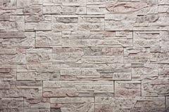 Διακοσμητικός τοίχος πετρών πλακών Στοκ Φωτογραφίες