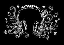 Διακοσμητικός του ακουστικού Στοκ Φωτογραφία