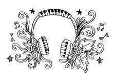 Διακοσμητικός του ακουστικού Στοκ φωτογραφία με δικαίωμα ελεύθερης χρήσης