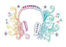 Διακοσμητικός του ακουστικού Στοκ φωτογραφίες με δικαίωμα ελεύθερης χρήσης