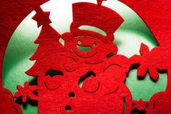 Διακοσμητικός χιονάνθρωπος Χριστουγέννων Στοκ εικόνα με δικαίωμα ελεύθερης χρήσης