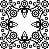 διακοσμητικός floral ανασκόπησης ελεύθερη απεικόνιση δικαιώματος