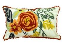 Διακοσμητικός floral ρίχνει το μαξιλάρι Στοκ Φωτογραφίες
