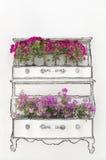 διακοσμητικός floral τοίχος ζωγραφικής Στοκ Εικόνες