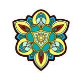 Διακοσμητικός peony, αυξήθηκε λουλούδι με ένα μάτι της πρόνοιας Στοκ φωτογραφίες με δικαίωμα ελεύθερης χρήσης