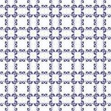 Διακοσμητικό άνευ ραφής πρότυπο Μπλε και άσπρα χρώματα ΠρότυποÂEndlessΣτοκ εικόνα με δικαίωμα ελεύθερης χρήσης