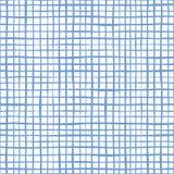 Διακοσμητικό άνευ ραφής σχέδιο γραμμών με τη στριμμένη γραμμή ελεύθερη απεικόνιση δικαιώματος