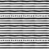 Διακοσμητικό άνευ ραφής σχέδιο με τις handdrawn μορφές στοκ φωτογραφία