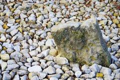 Διακοσμητικό αμμοχάλικο στον ιαπωνικό κήπο 2 στοκ εικόνες με δικαίωμα ελεύθερης χρήσης