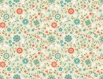 Άνευ ραφής Floral σχέδιο. Στοκ φωτογραφία με δικαίωμα ελεύθερης χρήσης