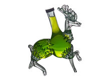 Διακοσμητικό αρσενικό ελάφι μπουκαλιών από Foxovsky Στοκ Φωτογραφία