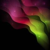 Διακοσμητικό αφηρημένο υπόβαθρο με τις μεταβάσεις χρώματος Στοκ Εικόνες