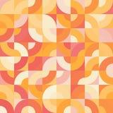 Διακοσμητικό γεωμετρικό άνευ ραφής σχέδιο μορφών Στοκ Φωτογραφία