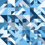 Διακοσμητικό γεωμετρικό άνευ ραφής σχέδιο μορφών Στοκ εικόνα με δικαίωμα ελεύθερης χρήσης