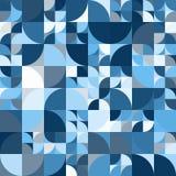 Διακοσμητικό γεωμετρικό άνευ ραφής σχέδιο μορφών Στοκ φωτογραφία με δικαίωμα ελεύθερης χρήσης