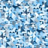 Διακοσμητικό γεωμετρικό άνευ ραφής σχέδιο μορφών Στοκ Εικόνα