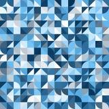 Διακοσμητικό γεωμετρικό άνευ ραφής σχέδιο μορφών Στοκ εικόνες με δικαίωμα ελεύθερης χρήσης