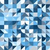 Διακοσμητικό γεωμετρικό άνευ ραφής σχέδιο μορφών Στοκ Εικόνες
